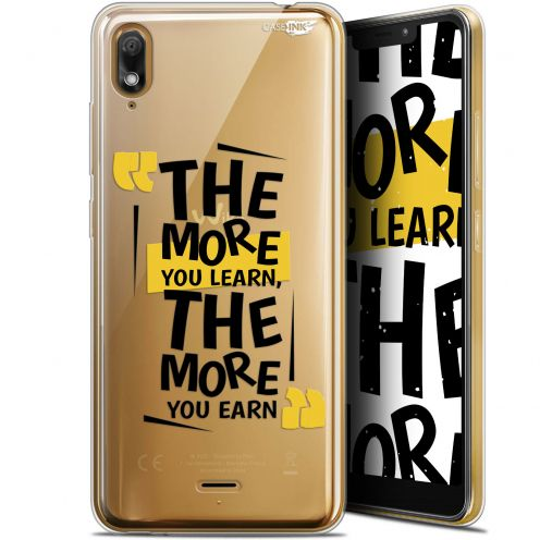 "Extra Slim Gel Wiko View 2 GO (5.93"") Case Design The More You Learn"