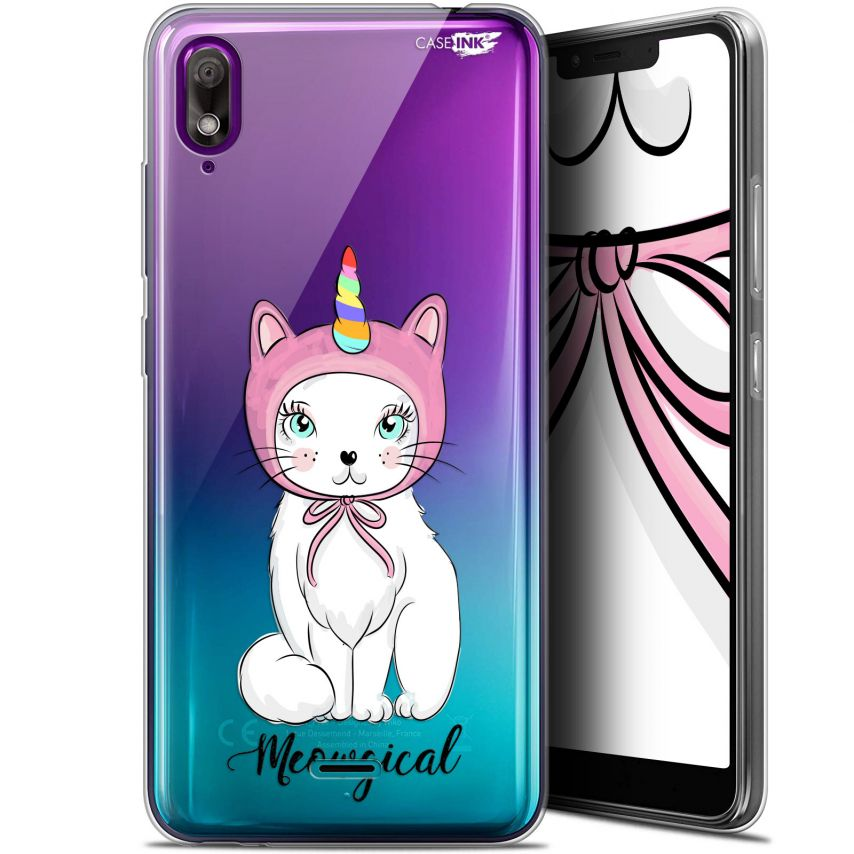 "Extra Slim Gel Wiko View 2 GO (5.93"") Case Design Ce Chat Est MEOUgical"