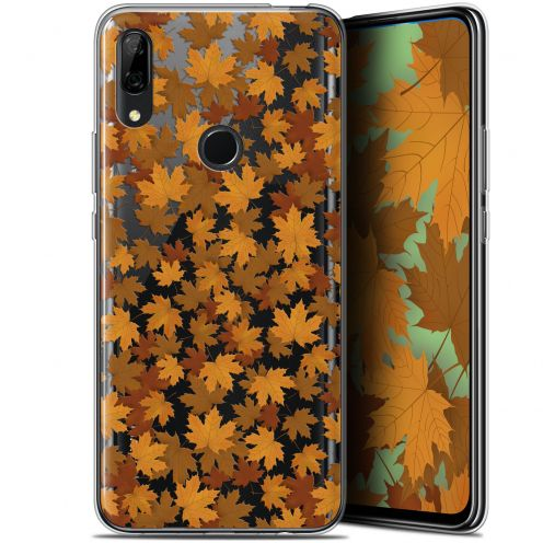 "Extra Slim Gel Huawei P Smart Z (6.6"") Case Autumn 16 Feuilles"