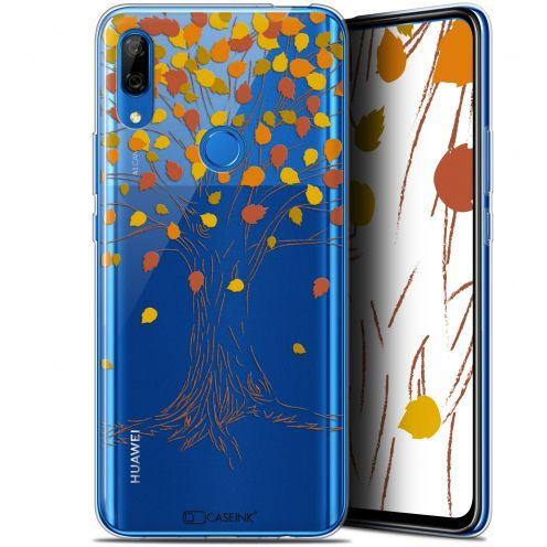 "Extra Slim Gel Huawei P Smart Z (6.6"") Case Autumn 16 Tree"