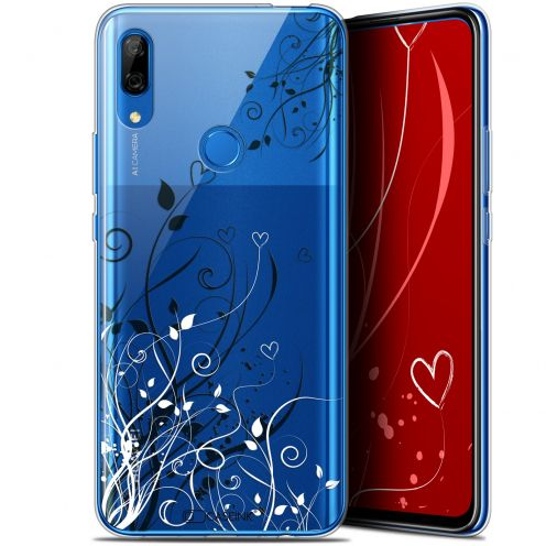 "Extra Slim Gel Huawei P Smart Z (6.6"") Case Love Hearts Flowers"
