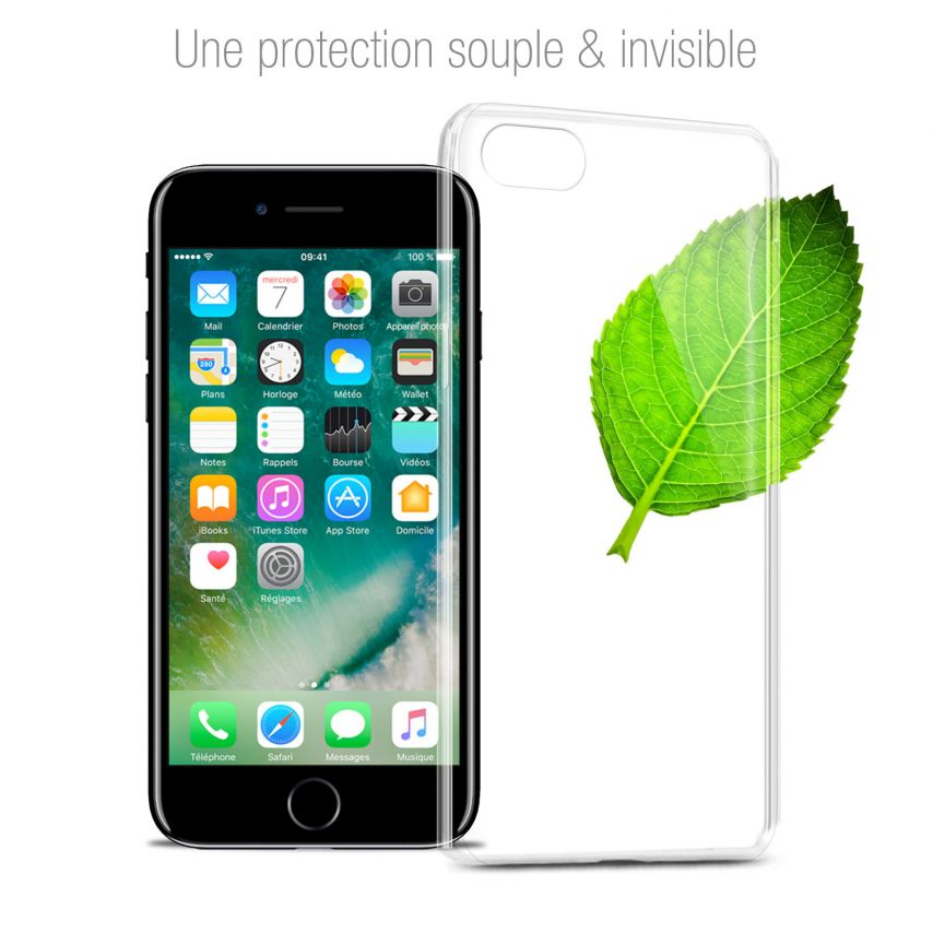 """Extra Slim 1mm Crystal Clear View Flexible Case Apple iPhone 7 (4.7"""")"""