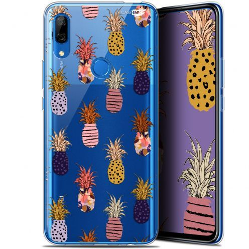 "Extra Slim Gel Huawei P Smart Z (6.6"") Case Design Ananas Gold"