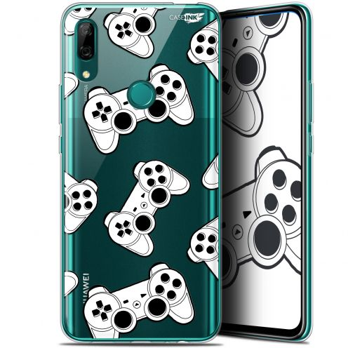 "Extra Slim Gel Huawei P Smart Z (6.6"") Case Design Game Play Joysticks"