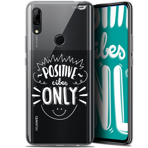 "Extra Slim Gel Huawei P Smart Z (6.6"") Case Design Positive Vibes Only"