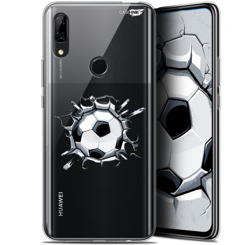 "Extra Slim Gel Huawei P Smart Z (6.6"") Case Design Le Balon de Foot"