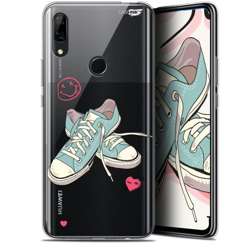 """Extra Slim Gel Huawei P Smart Z (6.6"""") Case Design Mes Sneakers d'Amour"""