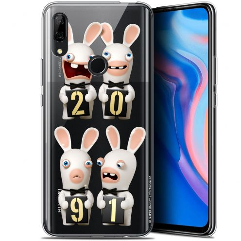 """Gel Huawei P Smart Z (6.6"""") Case Lapins Crétins™ New Year"""