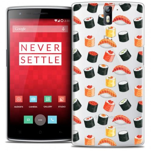 Extra Slim Crystal Rigide OnePlus One Case Foodie Sushi