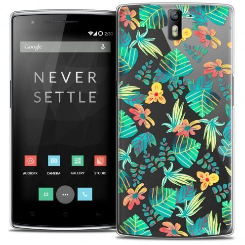 Extra Slim Crystal Rigide OnePlus One Case Spring Tropical