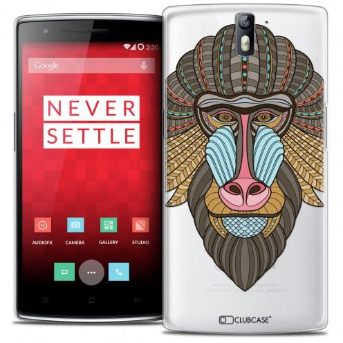 Extra Slim Crystal Rigide OnePlus One Case Summer Babouin