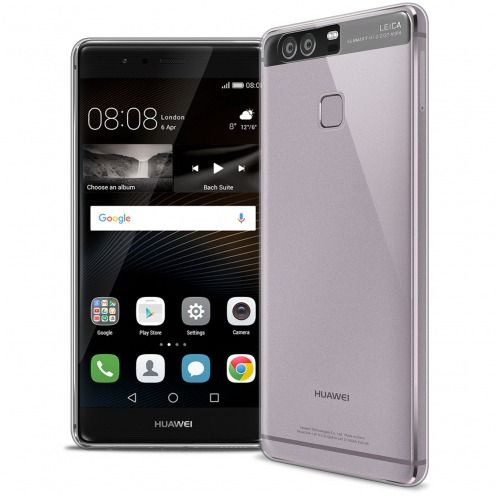 Slim Crystal Clear Hard Case for Huawei P9