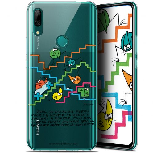 "Extra Slim Gel Huawei P Smart Z (6.6"") Case Les Shadoks® L'escalier"