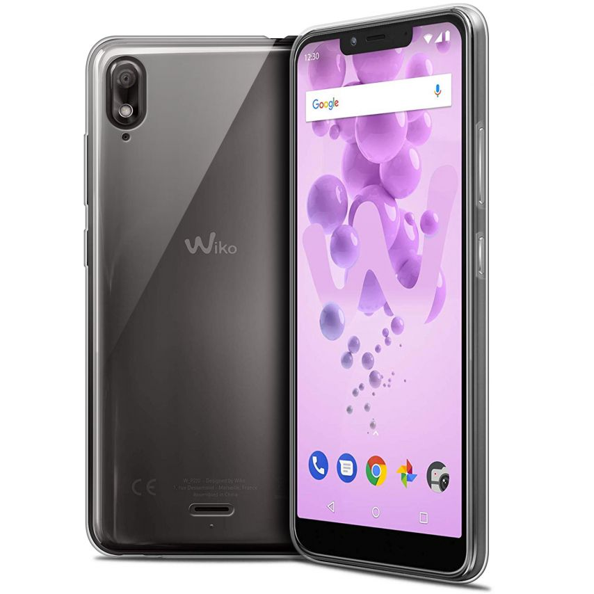 """Extra Slim 1mm Crystal Clear View 2 GO Flexible Case Wiko View 2 GO (5.93"""")"""