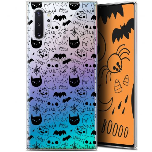 "Extra Slim Gel Samsung Galaxy Note 10+ / Plus (6.8"") Case Halloween Spooky"