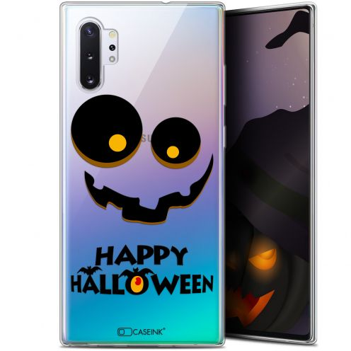 "Extra Slim Gel Samsung Galaxy Note 10+ / Plus (6.8"") Case Halloween Happy"