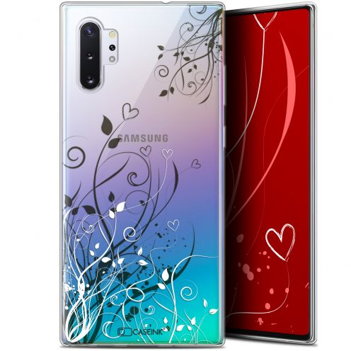 "Extra Slim Gel Samsung Galaxy Note 10+ / Plus (6.8"") Case Love Hearts Flowers"