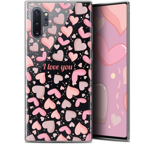 "Extra Slim Gel Samsung Galaxy Note 10+ / Plus (6.8"") Case Love I Love You"