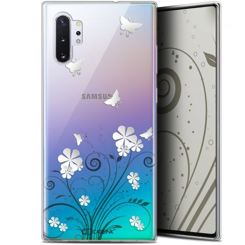 "Extra Slim Gel Samsung Galaxy Note 10+ / Plus (6.8"") Case Summer Papillons"