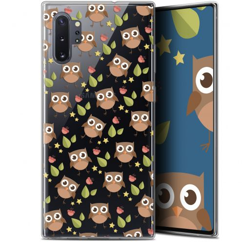 "Extra Slim Gel Samsung Galaxy Note 10+ / Plus (6.8"") Case Summer Hibou"