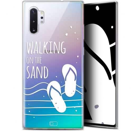 "Extra Slim Gel Samsung Galaxy Note 10+ / Plus (6.8"") Case Summer Walking on the Sand"
