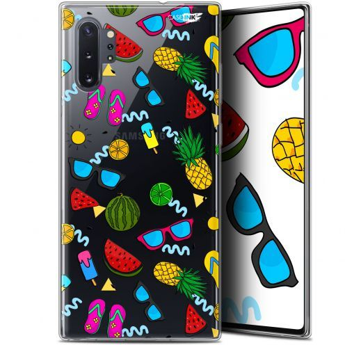 "Extra Slim Gel Samsung Galaxy Note 10+ / Plus (6.8"") Case Design Summers"