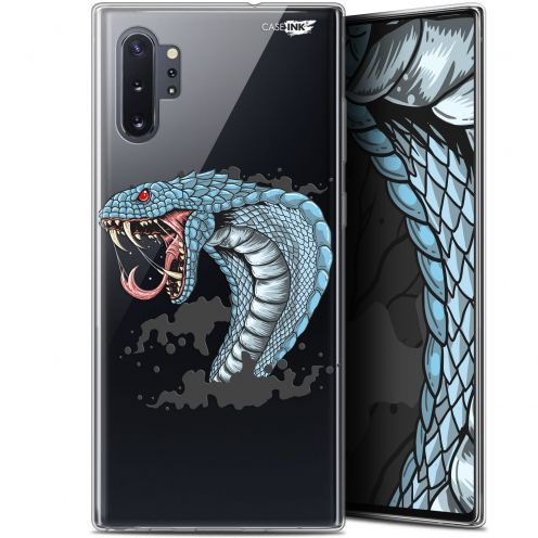 "Extra Slim Gel Samsung Galaxy Note 10+ / Plus (6.8"") Case Design Cobra Draw"