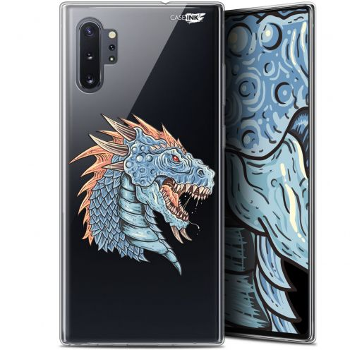 "Extra Slim Gel Samsung Galaxy Note 10+ / Plus (6.8"") Case Design Dragon Draw"