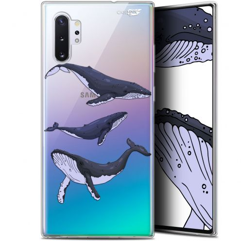"Extra Slim Gel Samsung Galaxy Note 10+ / Plus (6.8"") Case Design Les 3 Baleines"