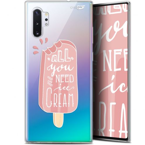 "Extra Slim Gel Samsung Galaxy Note 10+ / Plus (6.8"") Case Design Ice Cream"