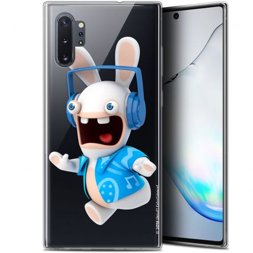 """Gel Samsung Galaxy Note 10+ / Plus (6.8"""") Case Lapins Crétins™ Techno Lapin"""