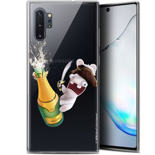 """Gel Samsung Galaxy Note 10+ / Plus (6.8"""") Case Lapins Crétins™ Champagne !"""