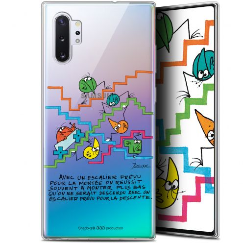 "Extra Slim Gel Samsung Galaxy Note 10+ / Plus (6.8"") Case Les Shadoks® L'escalier"