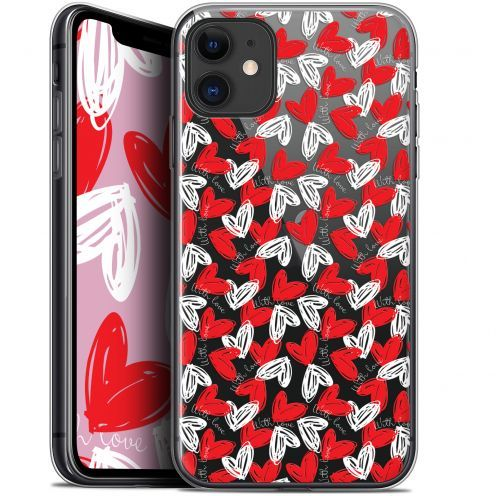 """Extra Slim Gel Apple iPhone 11 (6.1"""") Case Love With Love"""