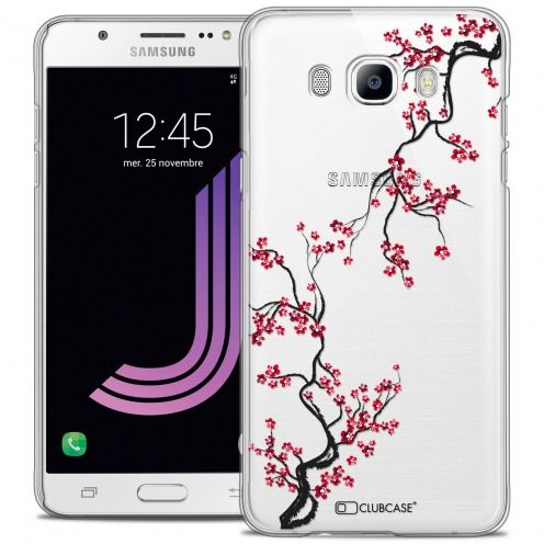 Extra Slim Crystal Rigide Samsung Galaxy J7 2016 (J710) Case Summer Sakura