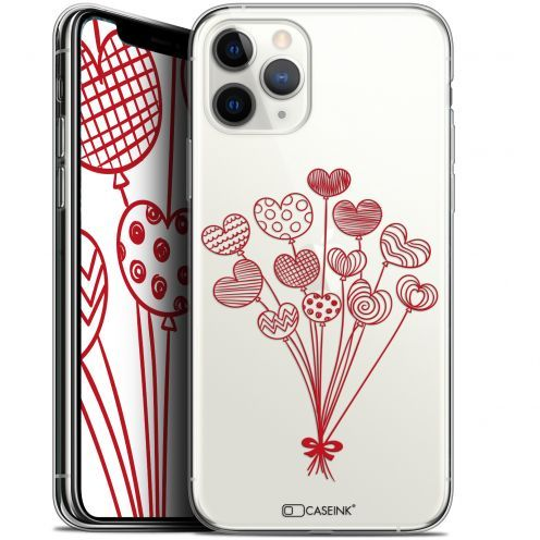 "Extra Slim Gel Apple iPhone 11 Pro (5.8"") Case Love Ballons d'amour"