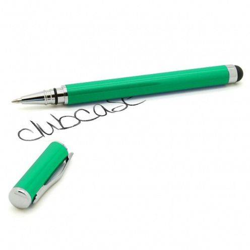 Touch pen green hooded