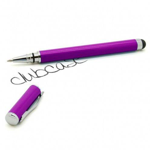 Touch pen purple hooded