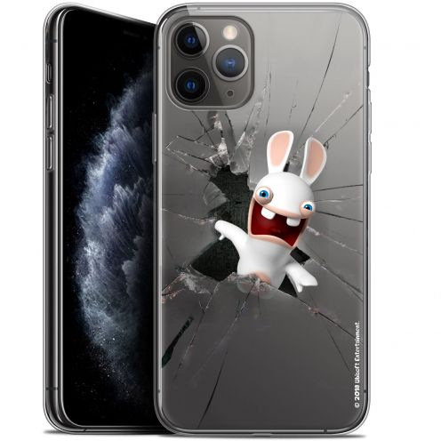 "Gel Apple iPhone 11 Pro (5.8"") Case Lapins Crétins™ Breaking Glass"