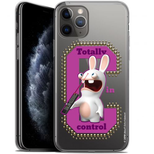 "Gel Apple iPhone 11 Pro (5.8"") Case Lapins Crétins™ In Control !"