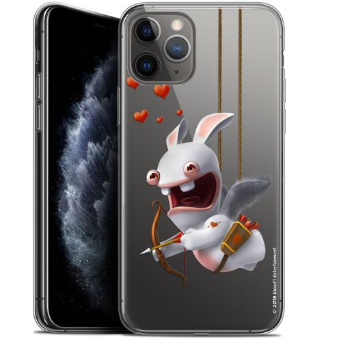 "Gel Apple iPhone 11 Pro (5.8"") Case Lapins Crétins™ Flying Cupidon"