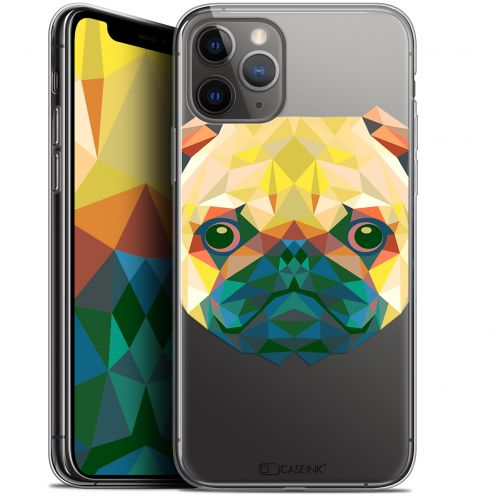 "Extra Slim Gel Apple iPhone 11 Pro Max (6.5"") Case Polygon Animals Dog"