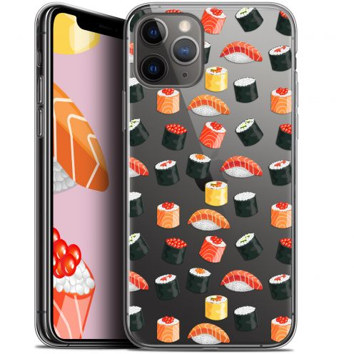"Extra Slim Gel Apple iPhone 11 Pro Max (6.5"") Case Foodie Sushi"