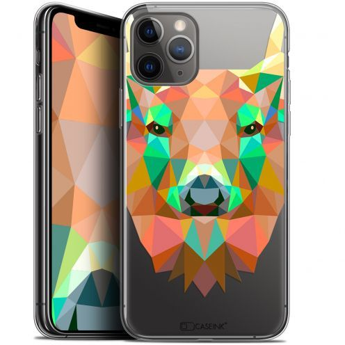 "Extra Slim Gel Apple iPhone 11 Pro Max (6.5"") Case Polygon Animals Deer"