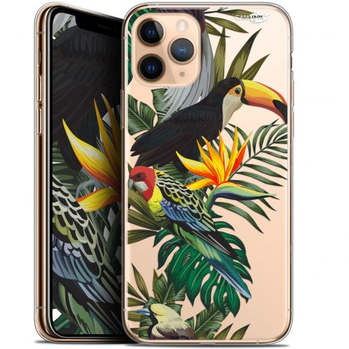 "Extra Slim Gel Apple iPhone 11 Pro Max (6.5"") Case Design Toucan Tropical"