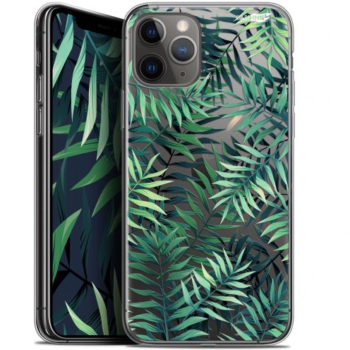 "Extra Slim Gel Apple iPhone 11 Pro Max (6.5"") Case Design Feuilles des Tropiques"