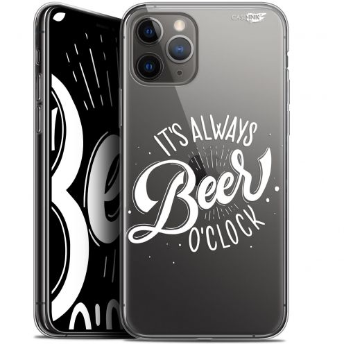 "Extra Slim Gel Apple iPhone 11 Pro Max (6.5"") Case Design Its Beer O'Clock"