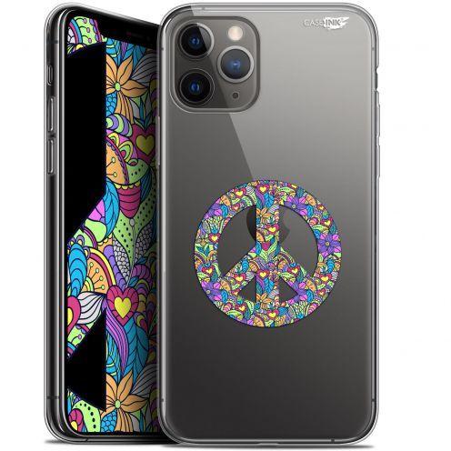 "Extra Slim Gel Apple iPhone 11 Pro Max (6.5"") Case Design Peace And Love"
