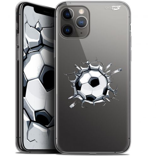 "Extra Slim Gel Apple iPhone 11 Pro Max (6.5"") Case Design Le Balon de Foot"