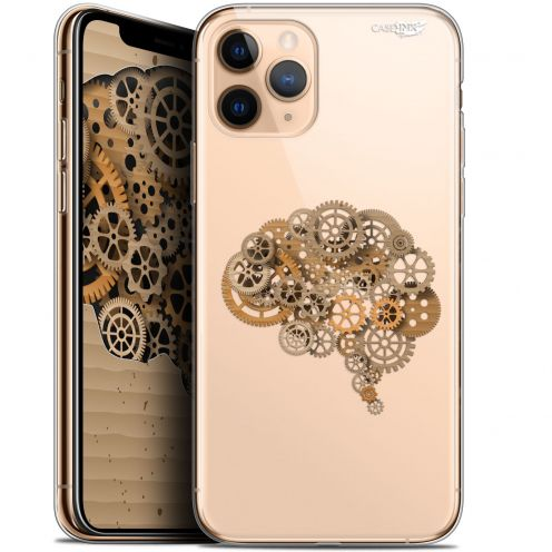 "Extra Slim Gel Apple iPhone 11 Pro Max (6.5"") Case Design Mécanismes du Cerveau"